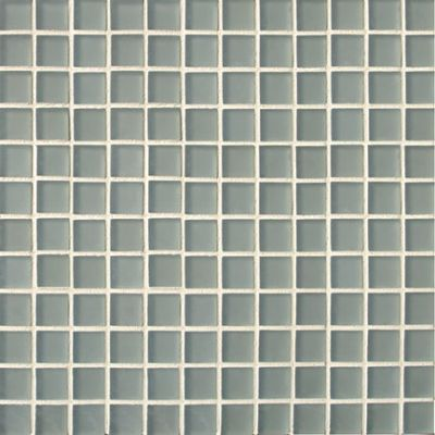 black, gray, white glass Mosaic