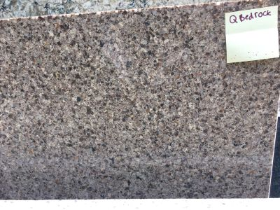 gray engineered Bedrock by q premium natural quartz by msi