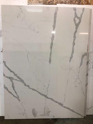gray, white quartz Statuary Classic by q premium natural quartz by msi