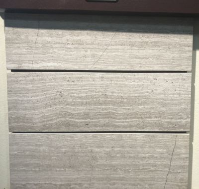 gray, tan marble Whitewood Honed