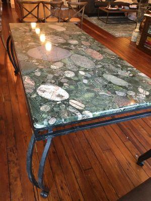 brown, green granite Granite Table Top