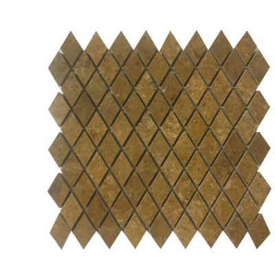 gold marble Inca Gold Marble Diamond Mosaic Tiles (Polished) by mosaic tile center