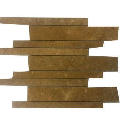 gold marble Inca Gold Marble Linear Mosaic Tiles (Polished) by mosaic tile center