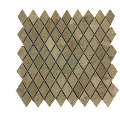 beige marble Sahara Beige Marble Diamond Mosaic Tiles (Polished) by mosaic tile center