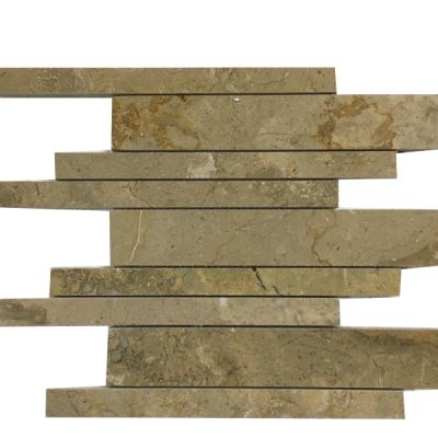 gold marble Sahara Gold Marble Linear Pattern Mosaic Tiles (Polished) by mosaic tile center