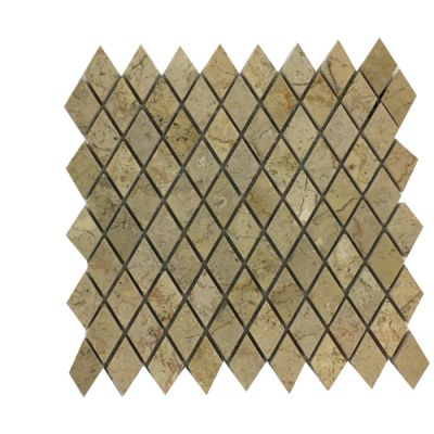 gold marble Sahara Gold Marble Diamond Mosaic Tiles (Polished) by mosaic tile center