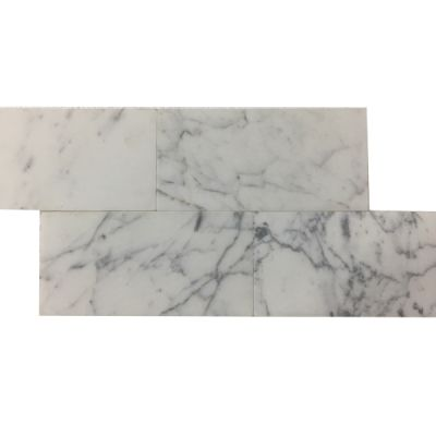 "gold marble Calacatta Gold 6"" x 12"" x 3/8"" Tiles (Honed)  by mosaic tile center"