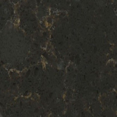 black engineered Silestone Black Dragon Quartz by silestone