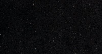 black engineered Silestone Eco Starlight Quartz by silestone