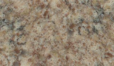 brown, tan engineered Silestone Giallo Nova Quartz by silestone