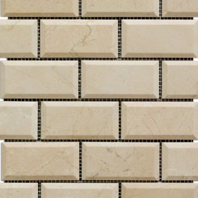 tan marble Crema Marfil by medici and co