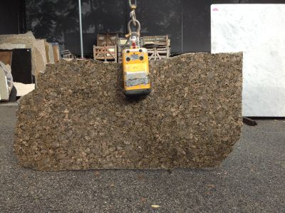 black, brown, tan granite Remnant Securi Brown