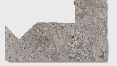 gray, tan granite Alaska White