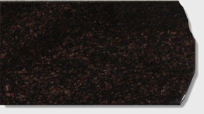 black, brown, gray granite Chestnut Brown