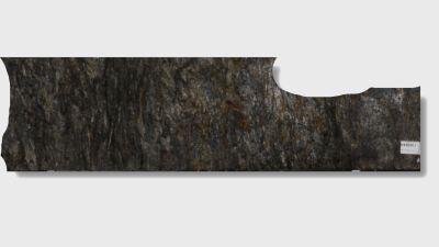 black, brown, gray granite Cosmic Black Satin