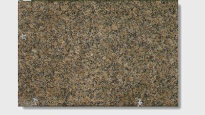 brown, green, tan granite Crystal Gold