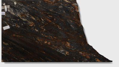 black, brown, gray, tan granite Magma Black