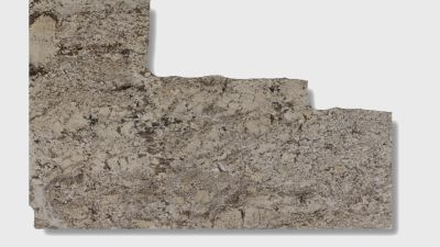 gray, tan granite White Sand
