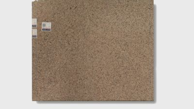 brown, gray, tan quartz Kona Beige by silestone