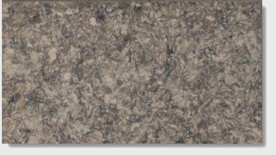 gray, tan quartz Mediterranean Silestone by silestone