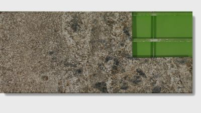 brown, gray, tan granite Oyster Bay