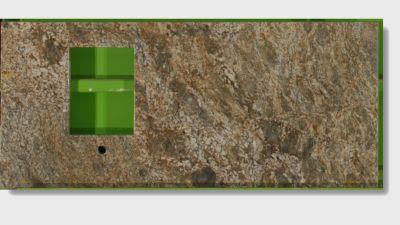 brown, green granite Pompeii