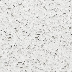 gray, white concrete Alpine White (3cm) by icestone