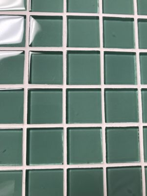 green glass Green Glass Mosaic