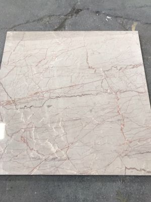 pink marble Rozalline 24x24 Polished Marble