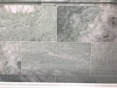 green, white marble Ming Green polished 12x12 green marble tile