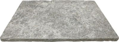 gray16x24 Silver travertine tumbled Paver - 3cm by architectural ceramics