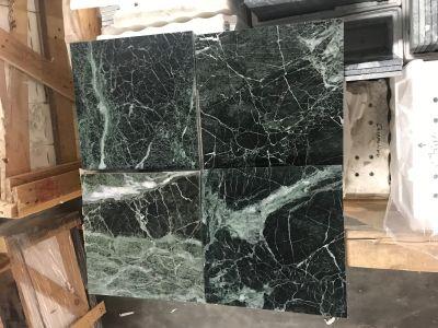 green, white marble TINOS