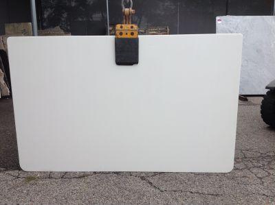 white engineered Remnant Bianco Glassos