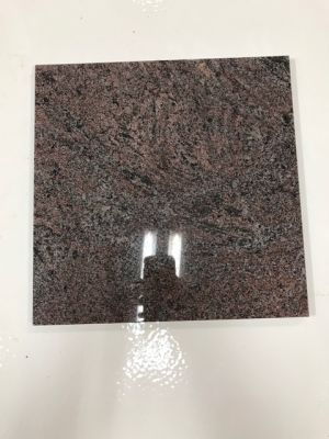 black, brown, red, white granite Polished Granite Tile