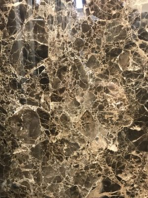 brown, tan, white marble Dark Emperador Polished 12 X12 Marble Tile by c-line marble and granite