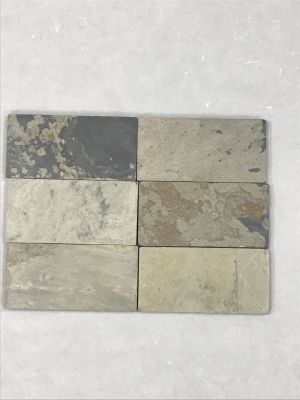 brown, gray, tan slate Autumn  Slate