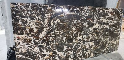 brown, gold, tan marble Grand Antique