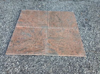 black, gray, red granite Granite Red Multi
