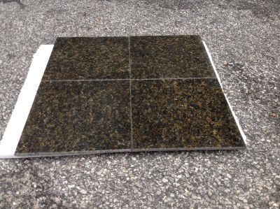 black, gold, green granite Granite Uba Tuba