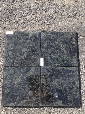 black, blue, green granite Granite Volga Blue