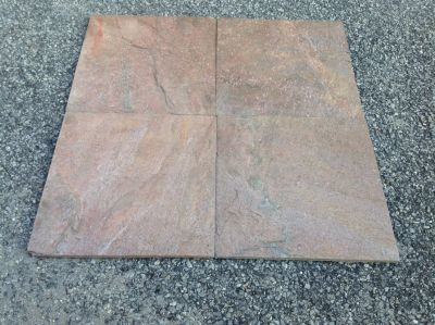 gray, red, tan slate Slate Copper Sandstone