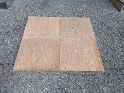 gray, tan, white, pink granite Granite Raw Silk