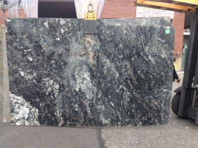 black, blue, brown, tan, white granite Granite Azul Marycato