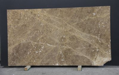 brown, gold, tan, white marble Emperador Light