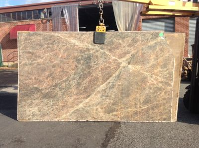 brown, gray, red, tan stone Primadonna ( Slab )
