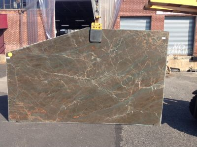 brown, gray, tan stone Primadonna ( Slab )