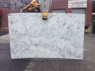 gold, gray, white stone Caida Blanca ( Slab )