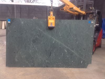 black, green, white stone Empress Teal ( Slab )