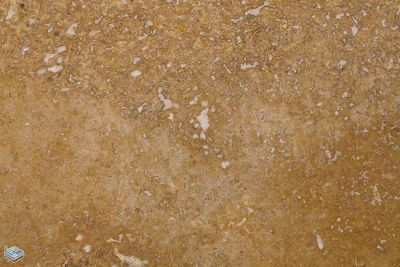 orange travertine CCT Euro Noce by tile and marble liquidators