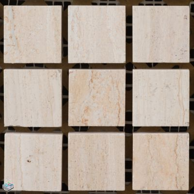 tan marble VC Serpeggiante Osso by tile and marble liquidators